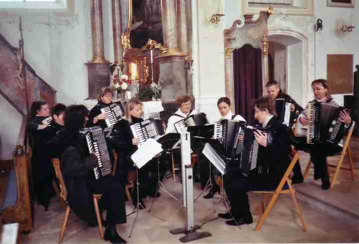 Messegestaltung in der Kirche, Gebenhofen, 2006